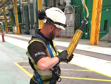 lifting equipment inspection Llanelli